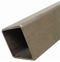 Rustfri Profilrør 10 x 10 x 1,0 mm. L = 1 Meter AISI 304